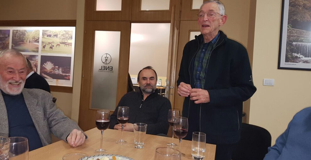 Sveti Trifun, januar 2017, Enel Valjevo / Druženje i degustacija vina počasnog člana dr Milana Živkovića