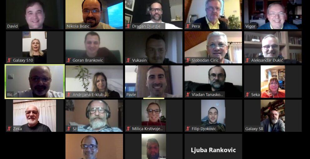 Prvi e-sastanak Rotari kluba Valjevo